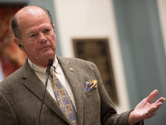 President Pro Tempore David B. McBride, D-Hawk's Nest, is confident most bills still pending before the General Assembly will get a vote before the end of session on June 30.