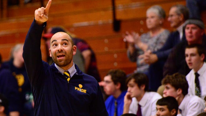 Woodmore's Aaron Clouse earned coach of year status in District 7.
