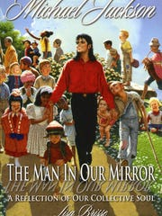 The cover of Lisa Brisse's new book about Michael Jackson