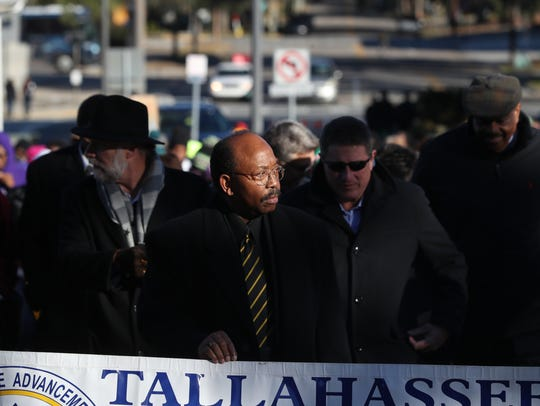 City Commissioner Curtis Richiardson stands at the