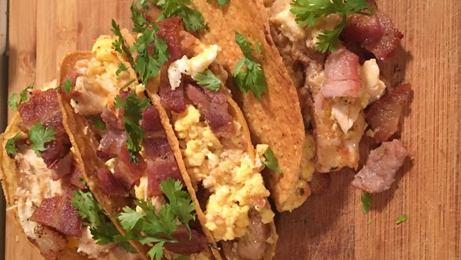Switch up your taco Tuesday with a more brunch friendly version.