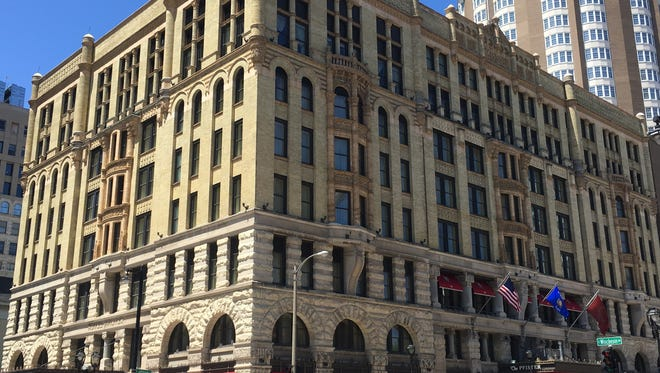The Pfister Hotel in downtown Milwaukee is the site of afternoon teas on Saturdays and Sundays.