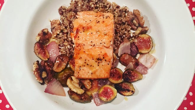 Side is perfect on its own or with a protein like salmon.