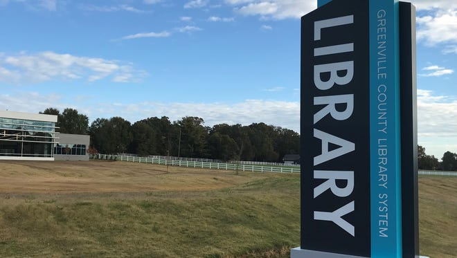 The Five Forks branch of the Greenville County Library System is expected to open in late 2017