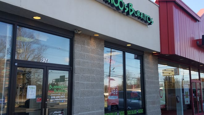 Bubbakoo's Burritos has opened an outlet on eastbound Route 22 in Somerville between Davenport and Bridge streets.