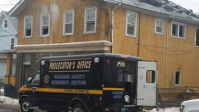 One person died in a fire on Talmage Avenue in Bound Brook on Sunday afternoon.