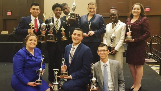 Students from Comeaux High's speech and debate team took home national honors.