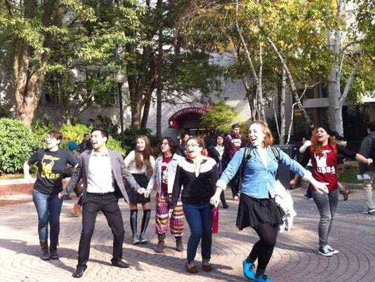 northeastern-flash-mob