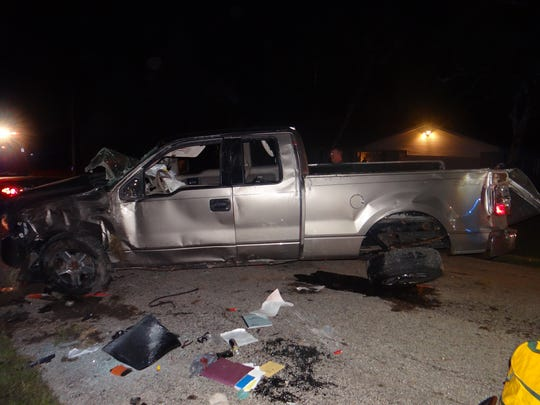 One person is dead and another was seriously injured when a pickup truck left the road early on Sept. 10 in Dodge County and rolled over.