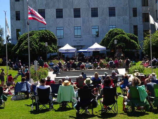 The Oregon State Capitol will hold tours and activities