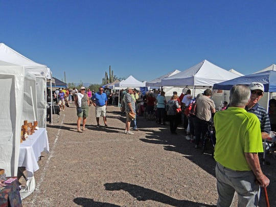 The White Tank Mountain Park Arts Festival takes place