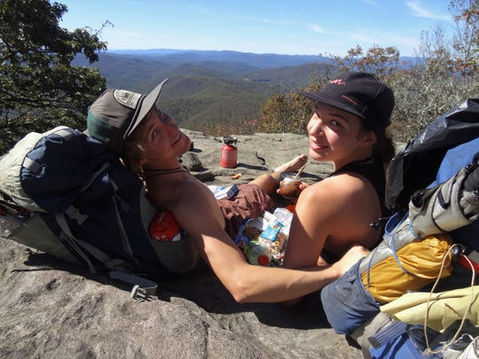 Will and Kate were given the trail names Lapsang and  Footprint while hiking the Pacific Coast Trail. They are now planning a hike on the Continental Divide Trail and will be raising money for cancer charity CampOneStep.