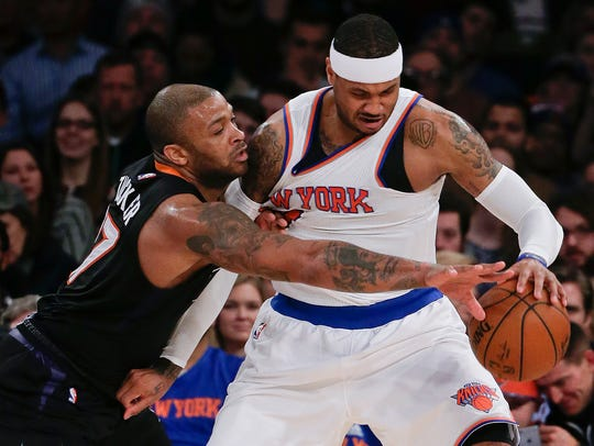 In addition to being a tough defender, P.J. Tucker