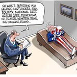 October political cartoons from the USA TODAY Network