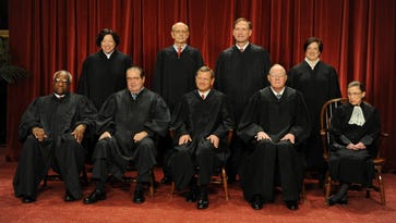 The Supreme Court on Oct. 8, 2010, Washington. Antonin Scalia died without deciding what should be done with his papers.