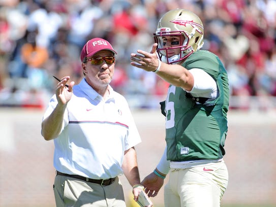 Florida State redshirt junior quarterback JJ Cosentino