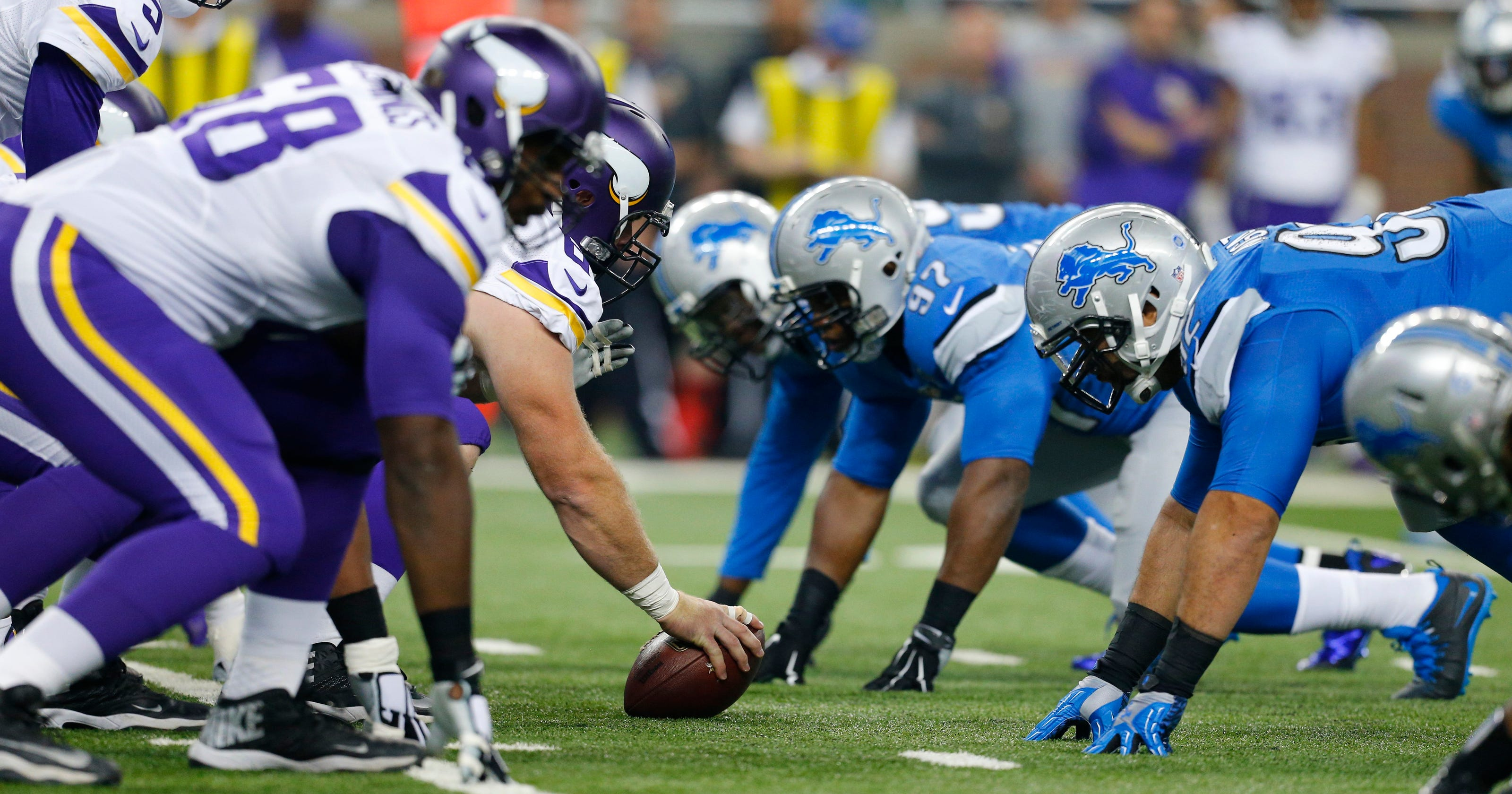 3aa4c3a5 Detroit Lions to host Minnesota Vikings on Thanksgiving next season?