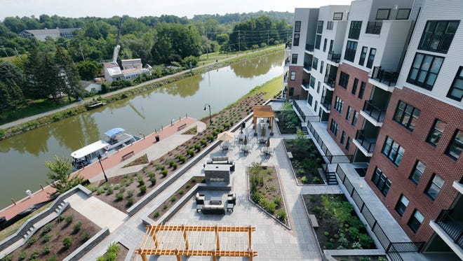 The Residences at Canalside in Fairport.