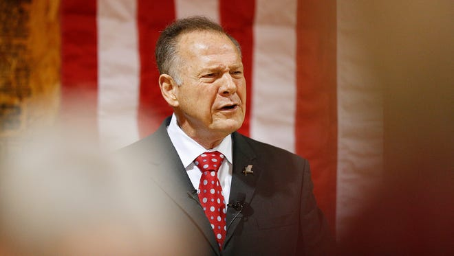 U.S. Senate candidate for Alabama Roy Moore