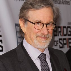 "NEW YORK, NY - OCTOBER 04: Director/producer Steven Spielberg attends the 53rd New York Film Festival premiere of ""Bridge Of Spies"" at Alice Tully Hall, Lincoln Center on October 4, 2015 in New York City.  (Photo by Jim Spellman/WireImage) ORG XMIT: 582529895 ORIG FILE ID: 491340634"