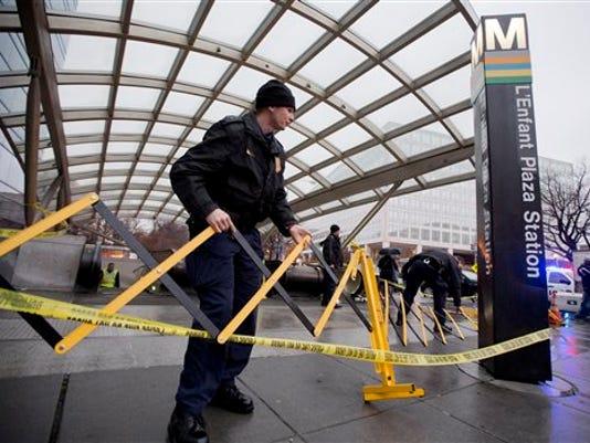 Metro Station Smoke