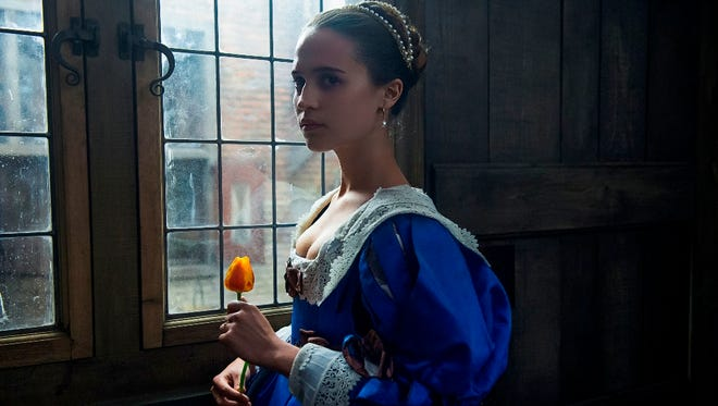Before she won best supporting actress for 'The Danish Girl,' Alicia Vikander shot the long-gestating 'Tulip Fever.'