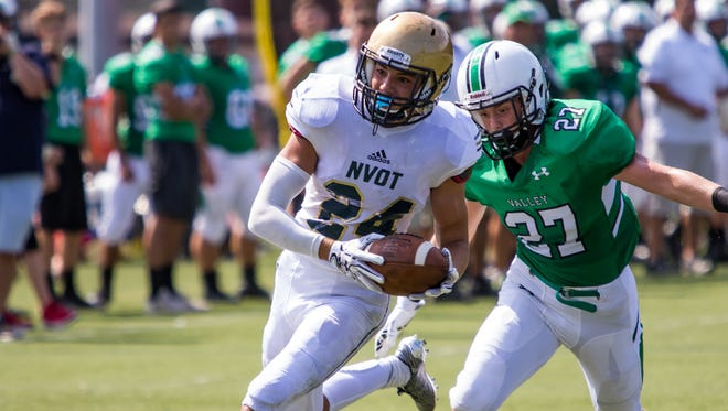 Aidan Bilali and NV/Old Tappan will play Mount Olive at MetLife stadium for the North 1, Group 4 sectional title.