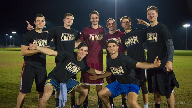 Not at the Table Carlos defeated Pike to take the All-Campus Flag Football title.