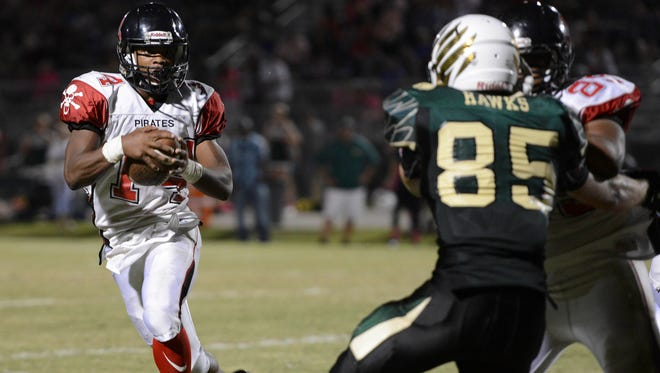 Brian Lankford-Johnson of Palm Bay was a second-team Class 5A all-state RB.
