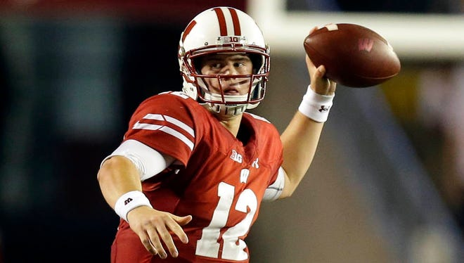 Alex Hornibrook is the Badgers' No. 1 quarterback headed into the 2017 season.
