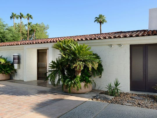 The Rubenstein estate in Rancho Mirage designed by