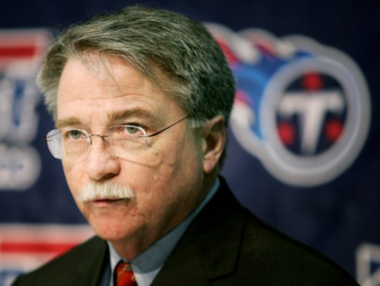Tennessee Titans President and CEO Steve Underwood