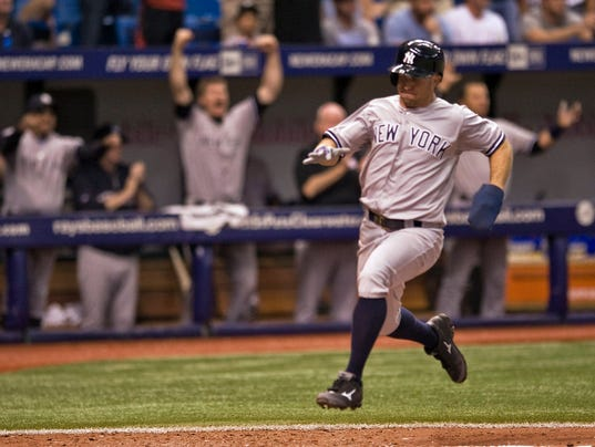 22Yankees Rays Baseball