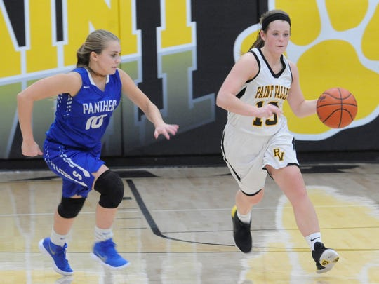 Paint Valley girls basketball is coming off a tough year but return Lea McFadden and Kelsey Dunn.