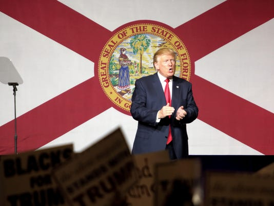 EPA USA ELECTIONS DONALD TRUMP CAMPAIGN RALLY POL ELECTIONS USA FL