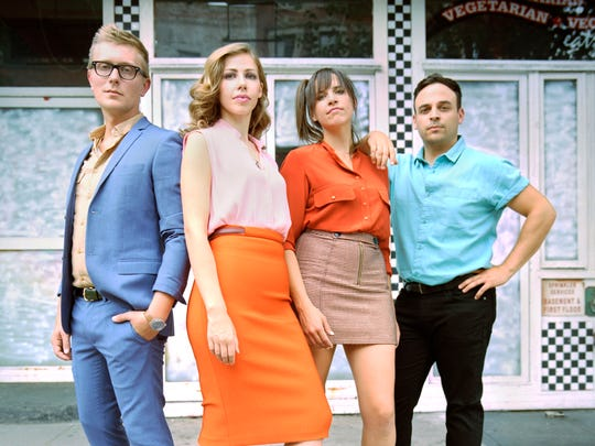 Lake Street Dive, from left, Mike Olson, Rachel Price,
