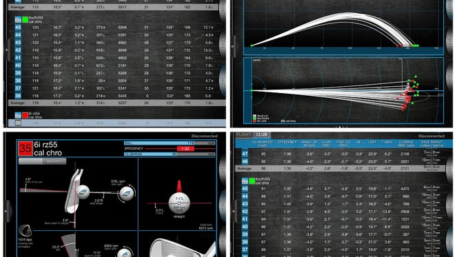 Adding the use of a launch monitor can help show you where consistencies and inconsistencies are and where the focus of the swing should be.