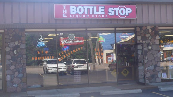 The Bottle Stop, pictured back during its opening in 2011. The business, located at 35 Park Ridge Dr., will mark its fifth anniversary with a special wine tasting on Aug. 25, 2016.
