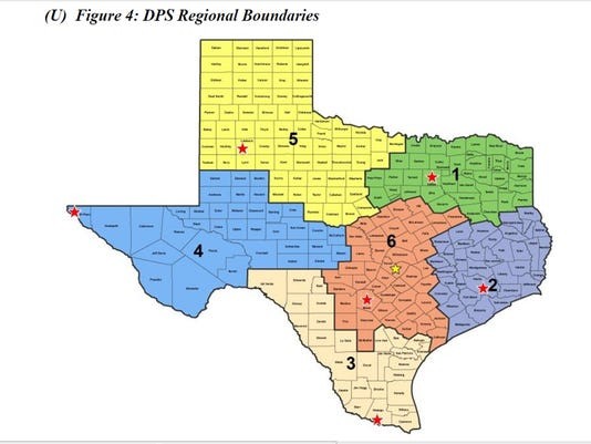 DPS Regional Boundaries