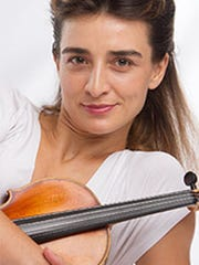 Daniela Shtereva, violinist, at Moorings Presbyterian Church