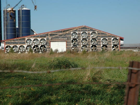 Mechanical Ventilation Options For Dairy Barns