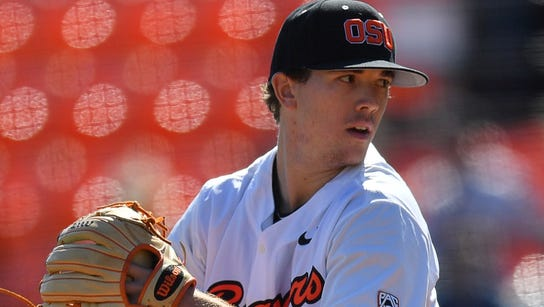 Travis Eckert leads the Beavers with 61 strikeouts