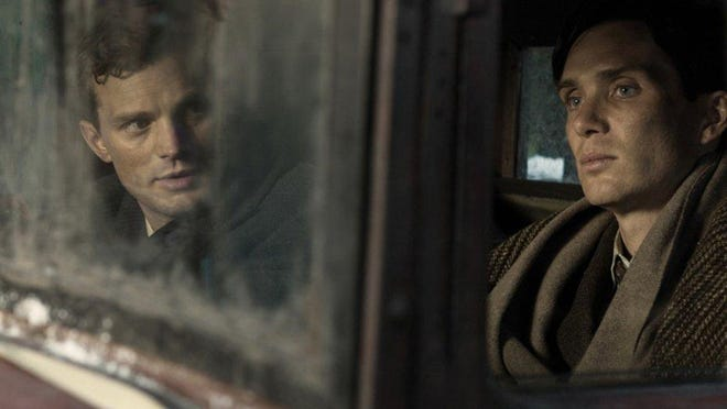 "Cillian Murphy (right) and Jamie Dornan star in ""Anthropoid."""
