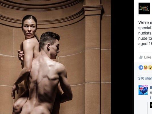 local nude dance