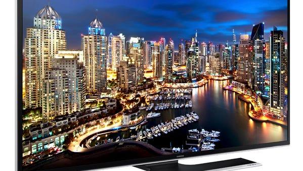 Samsung's 55-inch Ultra HD 4K Smart TV.