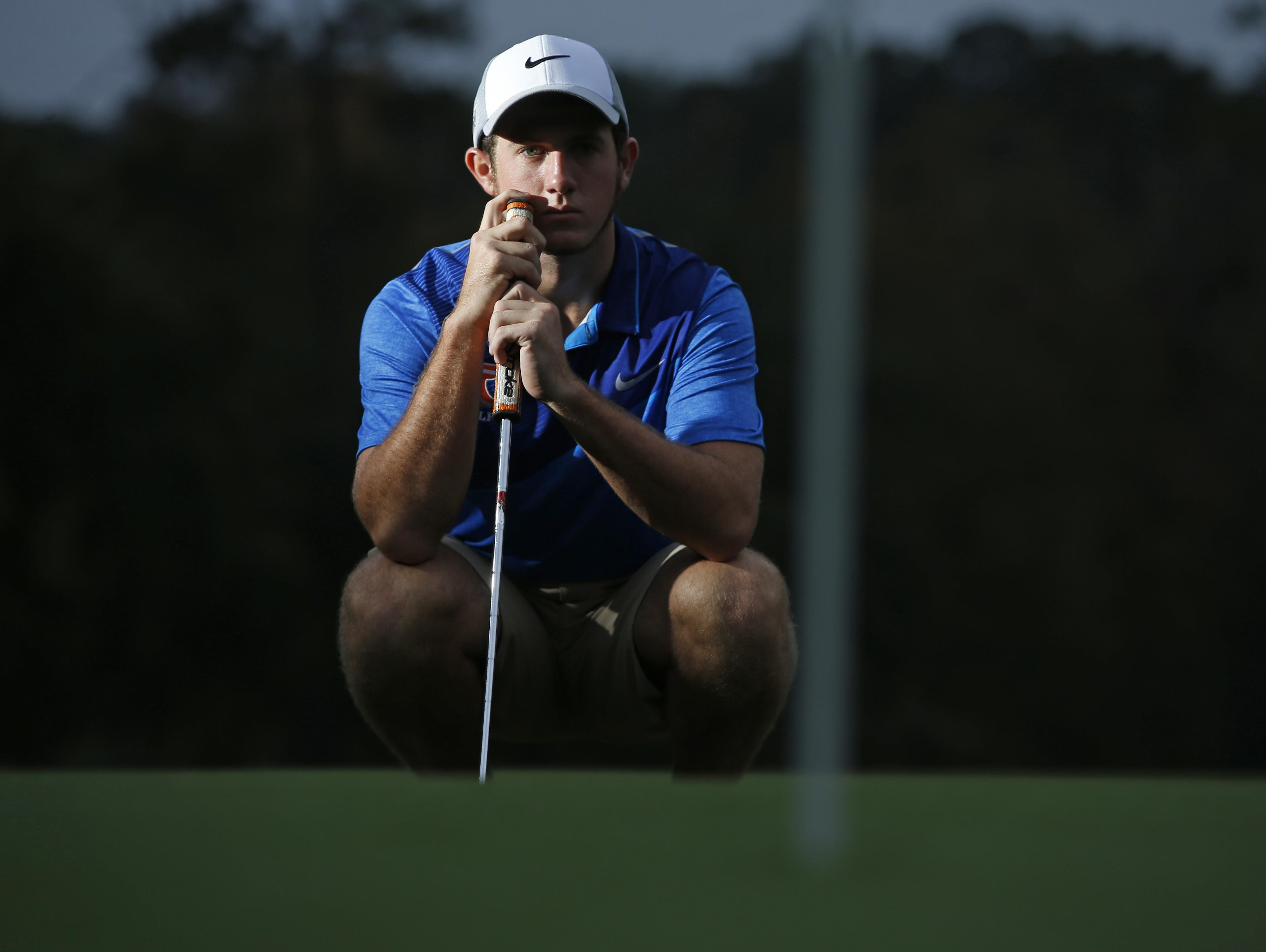 The 2015 All-Big Bend Player of the Year for boys golf is Taylor County senior Cole Wentworth, who won district and regional titles in leading the Bulldogs to team titles in both and the state playoffs, all for the first time in school history.