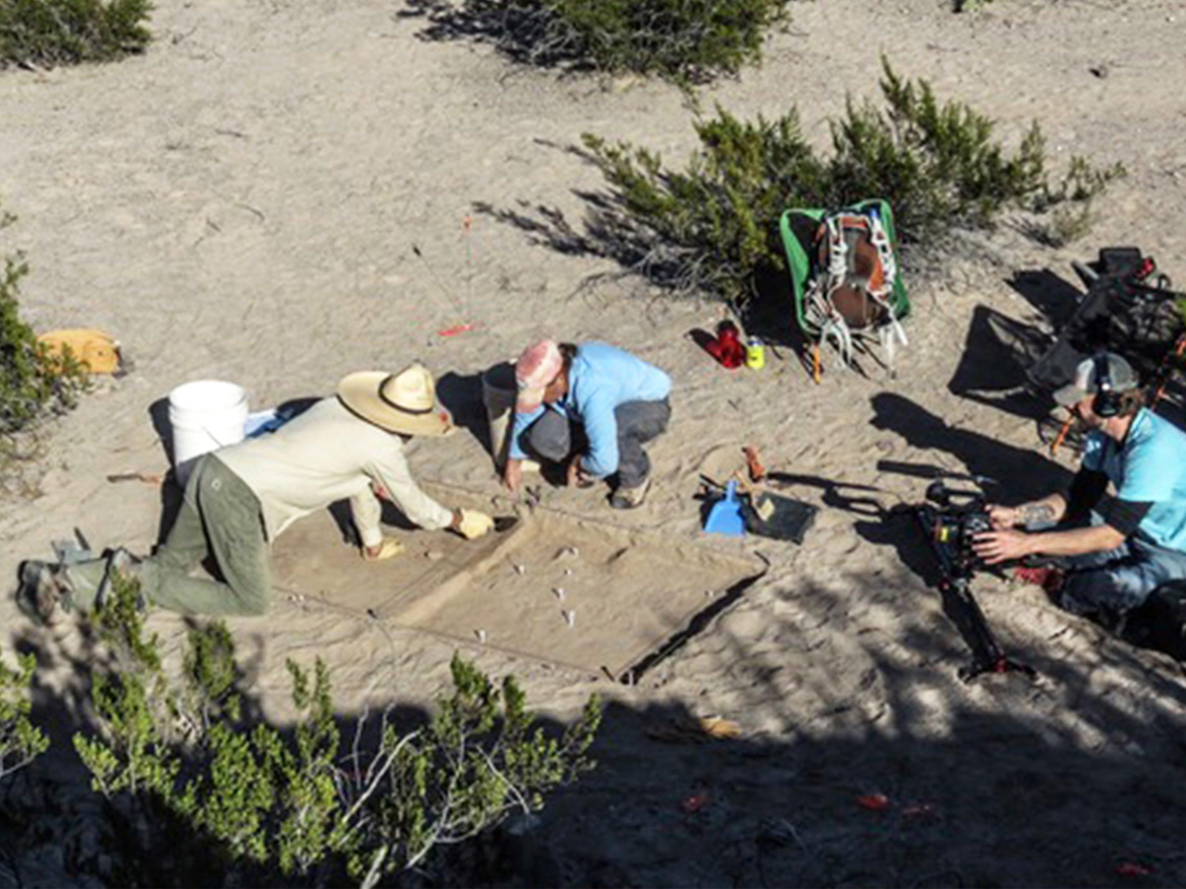 An excavation of the Porvenir massacre site was done in November 2015.