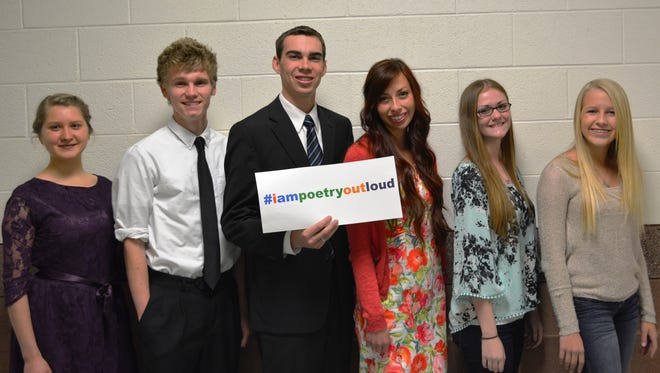Southern Utah 2015 Poetry Out Loud contestants