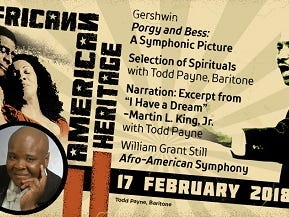 Win tickets to the African-American Heritage Concert 2/17.  Enter 1/22-2/11