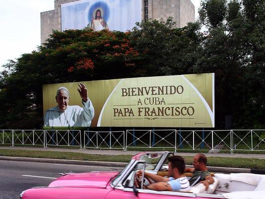 BESTPIX - Cuba Prepares For Visit Of Pope Francis